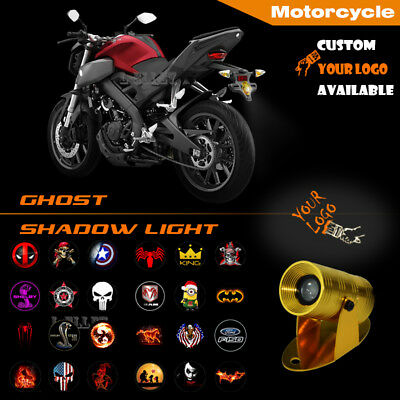 Motorcycle Custom Your Logo Laser Projector Ghost Shadow LED Puddle Motor Light