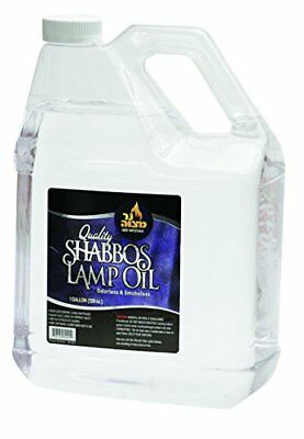 1 Gallon Paraffin Lamp Oil - Clear Smokeless, Odorless, Clean Burning Fuel for