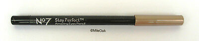 Boots No 7 Stay Perfect Amazing Eye Pencil 1.2g Bronze