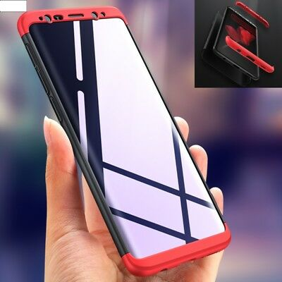 Hybrid 360 Protective Shockproof Hard Case Cover For Samsung Galaxy S9 + S7 S8 +