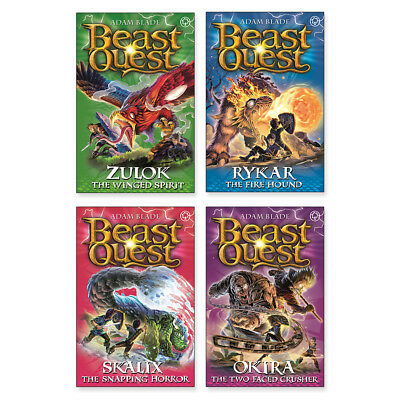 Beast Quest Complete Series 20 Collection Book Pack x 4 Books (RRP £19.96)