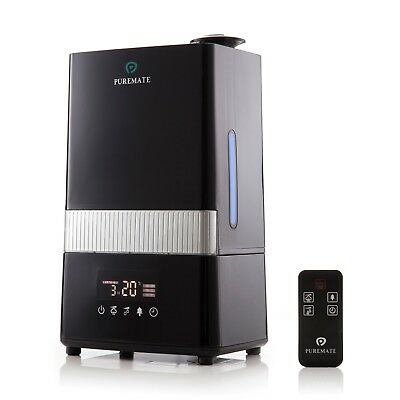 PureMate PM 908 Digital Ultrasonic Cool Mist Humidifier with Ioniser