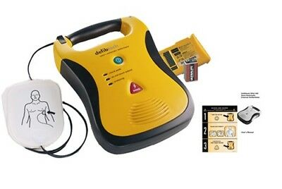 Defibtech Lifeline AED defibrillator 2 YEAR Warranty--New Pads and battery