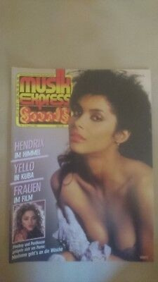 Musik Express Sounds Zeitschrift 1985 Nr. 8 (Jimi Hendrix, Yello, Huey Lewis)