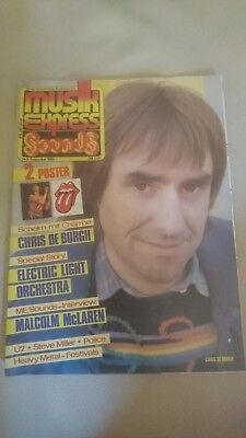Musik Express Sounds Zeitschrift 1983 Nr. 9 (Chris De Burgh, Electric Light)
