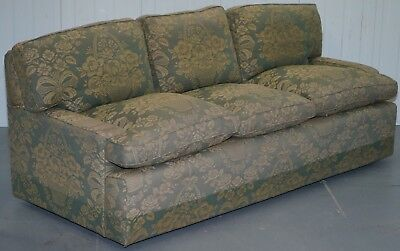 Rrp £8999 Liberty's London Sofa Howard Drop Arm Style Great Upholstery Project