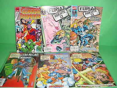 Comics Special-Marvel Comics-lot of 6 numbers-very good condition