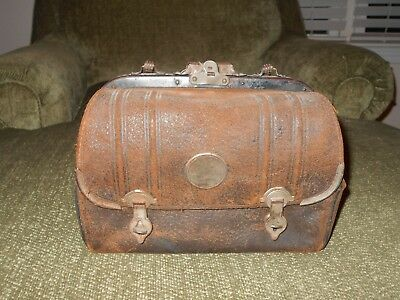 Doctors / Nurse Leather Bag from mid to late 1800's