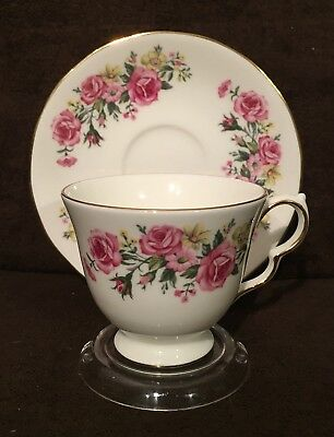 SALE - Blowout Clearance - Vintage Royal Vale Bone China Teacup and Saucer