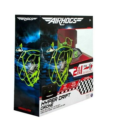 Air Hogs Hyper Drift Drone Indoor RC 24GHz 2in1 Land Stunts Racing
