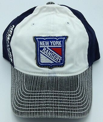 6296181e NHL New York Rangers Reebok Adult Adjustable Fit Slouch Cap Hat Beanie NEW!