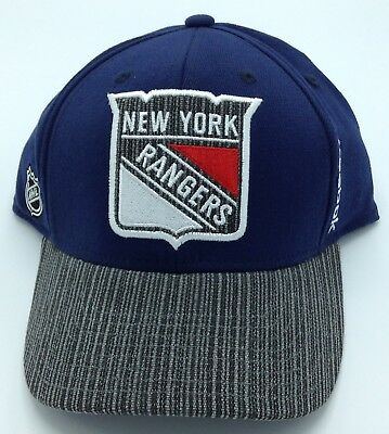 NHL New York Rangers Reebok Adult Structured Flex Fit Cap Hat Beanie NEW! 26b616973