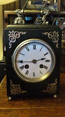 Antique French Mantel / Carriage Clock by Japy Freres & Gie