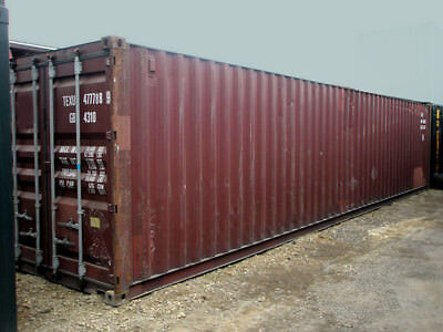 40ft (8,6 high) shipping container in cargo-worthy condition, Jacksonville, Fl
