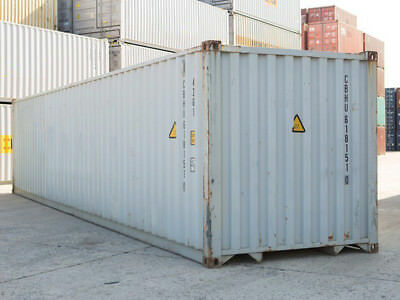 40ft high cube (9,6 high) shipping container, cargo-worthy, Jacksonville, Fl