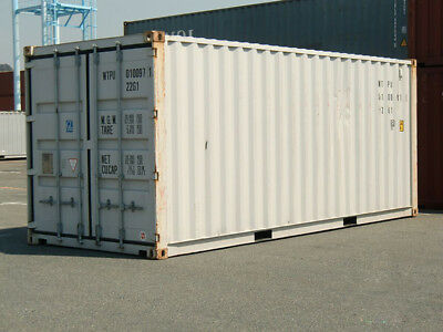 20ft used shipping container in cargo-worthy condition - Jacksonville, Florida