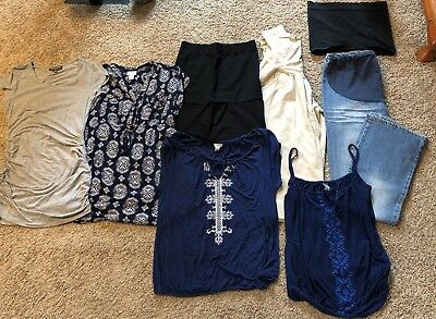 Maternity Lot M/L - Motherhood, Old Navy, Pea in the Pod 8 pieces