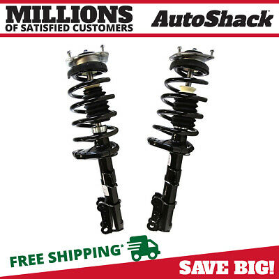 Front Pair of Complete Strut Assemblies with Coils & Mounts for 03-13 Volvo XC90