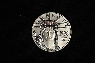 1998 Platinum Eagle $100 Statue Liberty 1 oz Platinum Coin /Z24