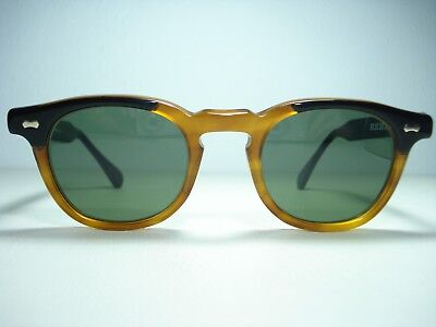 Vintage 1980's Shady Character James Dean NOS Sunglasses 48mm Tart Arnel Style