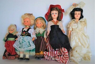 Mixed Lot Vintage Dolls for Refurbish ~ Parts ~ Repurpose ~ Story Book / Other