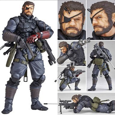 Metal Gear Solid Action Figure Kids Toys Video Game Doll PVC 15cm New Snake