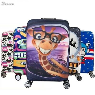 Luggage Protective Cover Suitcase Protect Dust Bag Case Child Cartoon 19-32 inch