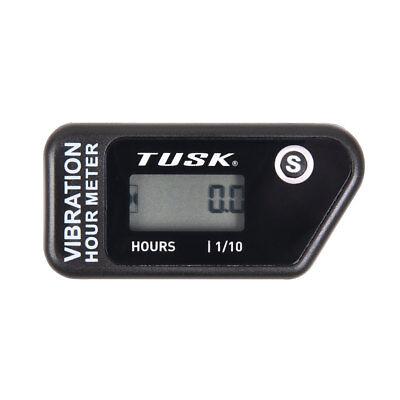 Tusk WIRELESS Hour Meter Maintence Dirt Bike ATV Dual Sport Hour Tracker IP68