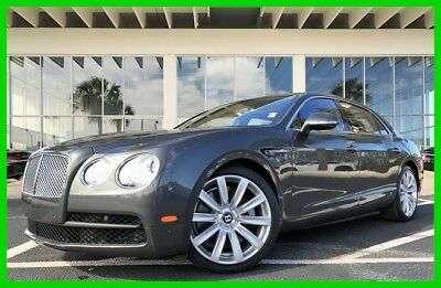 Bentley Flying Spur ~~~ WE FINANCE ~~~ WE SHIP WORLDWIDE ~~~ TAMPA MITSUBISHI 2015 V8 Used Turbo 4L V8 32V Automatic AWD Moonroof Premium