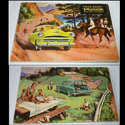 Plymouth Plaza Savoy Belverdere Car Owner's Service Brochure 1953 First Edition
