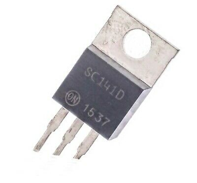 ON Semiconductor SC141D 6A 400V Triac in TO-220 / NOS / Thyristor - Lot of 3