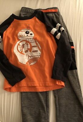 Boys Size 6 Star Wars/BB8 Outfit