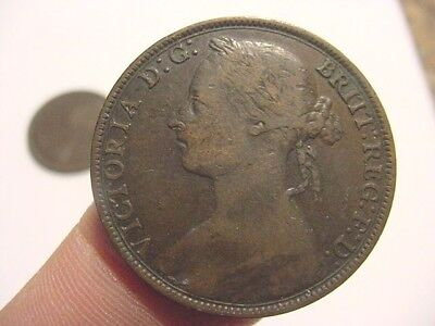1883 Great Britain  - penny - VF