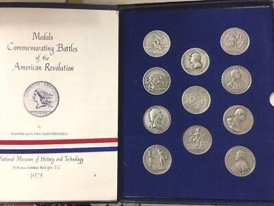 Americas First Medals US Mint Pewter? Coins 1973 American Revolution Commemorati