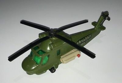 Large Vintage Matchbox Military Helicopter