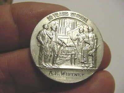 US Steel  30 Years of Service  Silver Medal