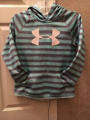 Girls Under Armour Storm Hooded Sweatshirt Size YLG