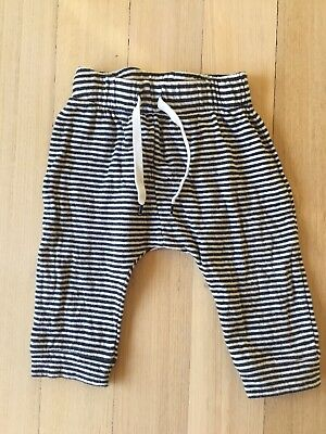 Country Road 🍉 Baby Girl Track Pants comfy baggy stripes size 0 6-12 Months