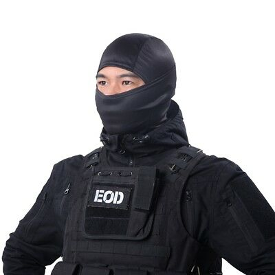Tactical Airsoft Hunting Wargame Breathe Dustproof Balaclava Face Mask Full Hood