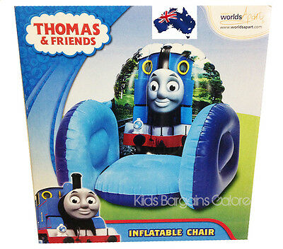 GENUINE Thomas the Tank Engine Inflatable Armchair Sofa Chair-In/Outdoor