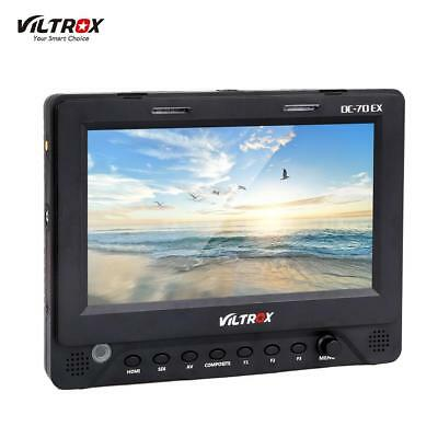 "Viltrox DC-70EX 7"" 4K HD LCD HDMI SDI AV DSLR Kamera Video Monitor Bildschirm DE"