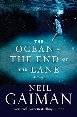OCEAN AT END OF LANE: A NOVEL By Neil Gaiman - Hardcover **BRAND NEW**