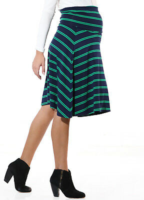 NEW - Trimester® - Andy Striped Obsession Maternity Skirt