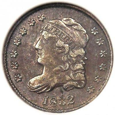 1832 Capped Bust Half Dime H10C - ANACS XF40 (EF40) - Rare Certified Coin