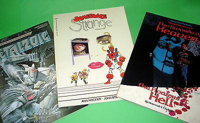 Comics english discontinued-METALZOIG-SOMEPLACE STRANGE and the swords of heaven
