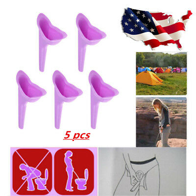 5X Portable Women Urinal Camping Outdoor Travel Urination Toilet Urine Device