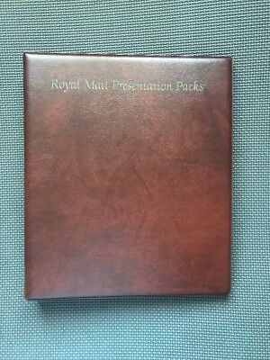 Royal Mail Presentation Packs Album (Includes 15 Sleeves) See Pics