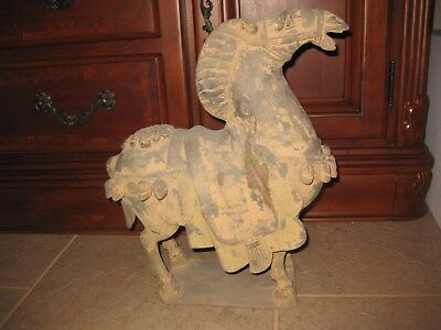Huge ancient Chinese Terracotta Horse, 41 cm
