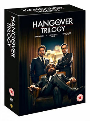 The Hangover Trilogy (DVD, 2013, 3-Disc Set, Box Set) New & Sealed