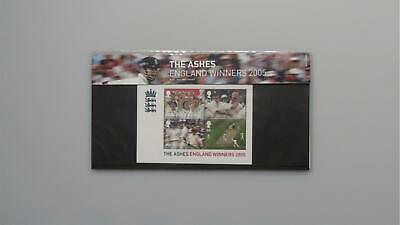G.B Presentation Pack - The Ashes England Winners 2005 Pk No.M12 06/10/05